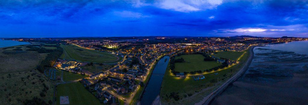 Musselburgh- Edinburgh view